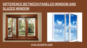 Difference Between Paneled Window and Glazed Window