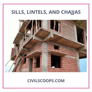 Sills, Lintels, and Chajjas