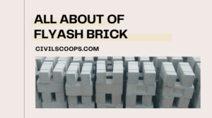all about of Flyash Brick