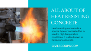 all about of Heat Resisting Concrete