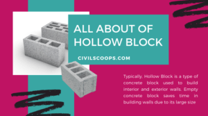 all about of Hollow Block